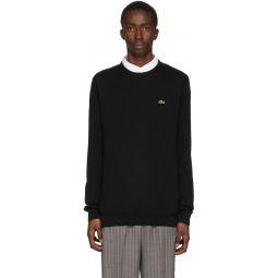 Black Classic Logo Sweater
