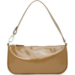 Tan Patent Rachel Bag