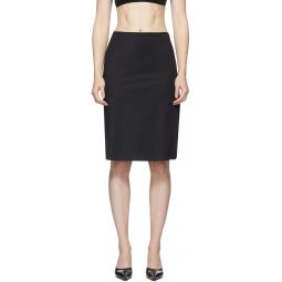 Black Cut-Out Skirt