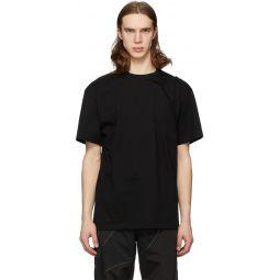 Black 3.0 Right Half Sleeve T-Shirt