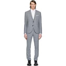 Grey Fine Travel Suit