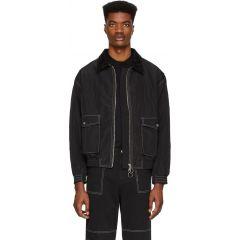 Black James Bomber Jacket