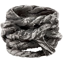 Silver Multi Rope Ring