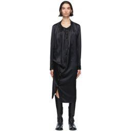 Black Silk Rasoseta Dress