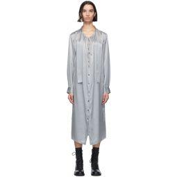 Grey Silk Rasoseta Dress