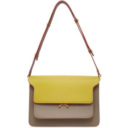 Yellow & Grey Medium Trunk Bag