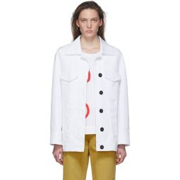 White Two Pocket Jacket