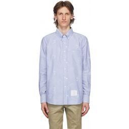 Blue Oxford Multi Ball Shirt