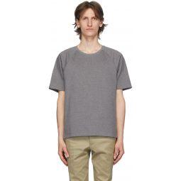 Grey Interlocking Stripe T-Shirt