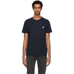 Navy Fox Head T-Shirt