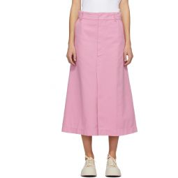 Pink Denim Blush Skirt