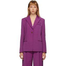 Purple Easton Blazer