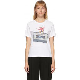 White Cassette T-Shirt