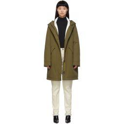 Green Down Bachette Jacket