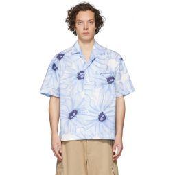 Blue 'La Chemise Jean' Short Sleeve Shirt