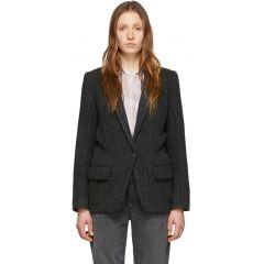 Black Wool Charly Jacket