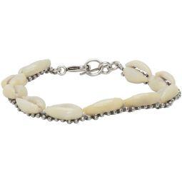 Off-White Seashell Bracelet