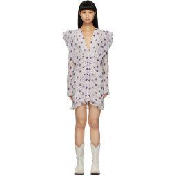 White Eulali Short Dress