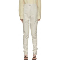 Off-White Leather Xenia Pants