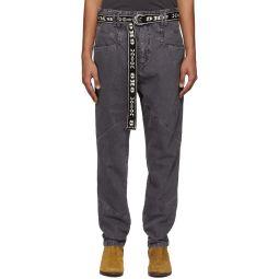 Black Faded Jowland Jeans