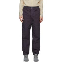 Navy Tilsor Trousers