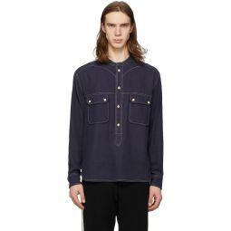 Navy Peliz Shirt