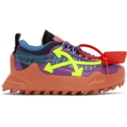 Purple & Yellow ODSY-1000 Sneakers