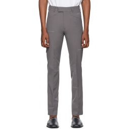 Grey Ex President Trousers