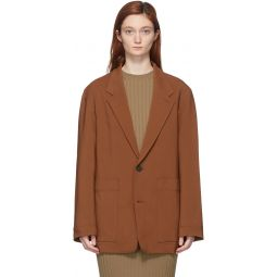 Brown Conde Oversized Blazer
