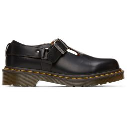Black Dr. Martens Edition T-Bar Harness Mary-Janes