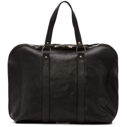 Black Small Expandable Weekender Bag