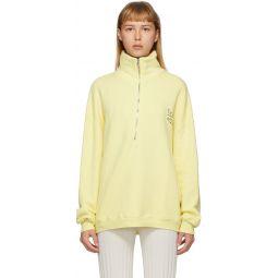 Yellow Rime Pullover Sweatshirt