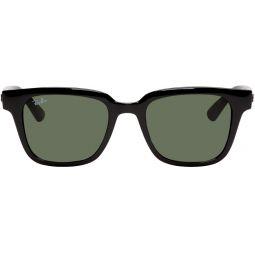 Black Acetate Square Sunglasses