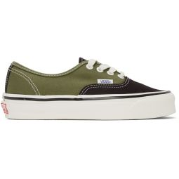 Black & Green OG Authentic LX Sneakers