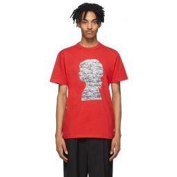 Red Jim Goldberg Edition Silhouette T-Shirt