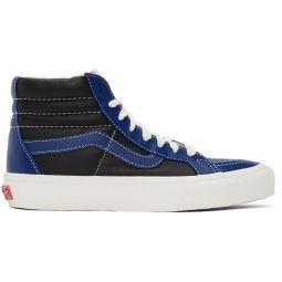 Blue & Black Sk8-Hi Reissue VI Sneakers