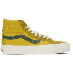 Yellow & Green OG Sk8-Hi LX Sneakers