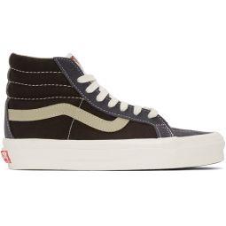 Blue & Brown OG Sk8-Hi LX Sneakers