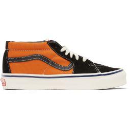 Orange & Black OG Sk8-Hi LX Sneakers