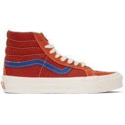 Red & Blue OG Sk8-Hi LX Sneakers