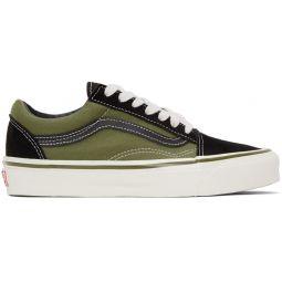 Green & Black OG Old Skool LX Sneakers