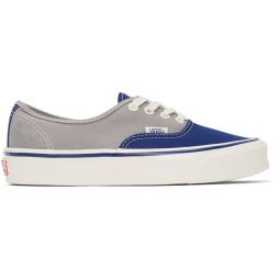 Grey & Blue OG Authentic LX Sneakers