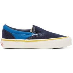 Blue & Navy OG Classic Slip-On LX Sneakers