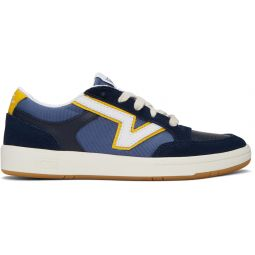 Navy & Yellow Serio Collection Lowland Cc Sneakers