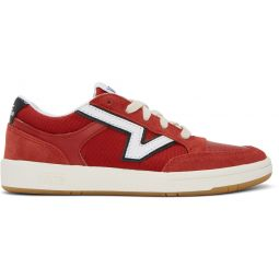 Red & White Serio Collection Lowland Cc Sneakers