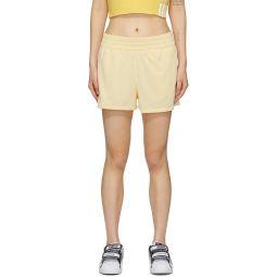 Yellow 3 Stripes Shorts