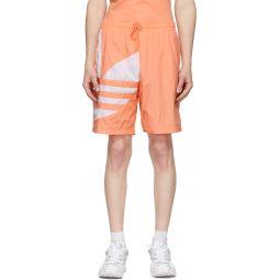 Pink Big Trefoil Track Shorts