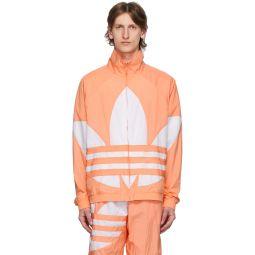Pink Big Trefoil Track Jacket