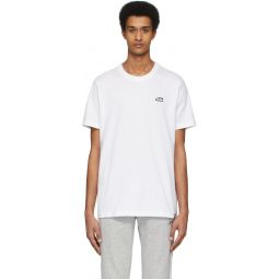 White Superstar Embroidered T-Shirt