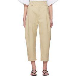 Beige Lombardy Trousers